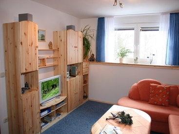 Bad Steben Ferienwohnungen Heger  - Zur Hügelwiese, Wohnzimmer