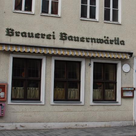 Gaststätte Brauerei Bauernwärtla