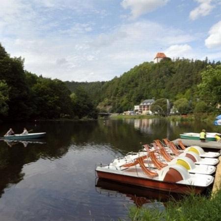Ferienglück in Ziegenrück an der schönen Saale in Thüringen