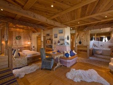 Zimmer im Burghotel auf dem Falkenstein