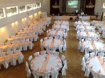 Großer Festsaal für Ihre Feier