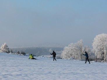 Bad Steben Ferienwohnung Heger Langlauf im Frankenwald