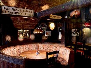 Das Ambiente in unserem Irish Pub lädt zum verweilen ein