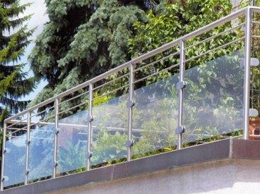 Geländer am Balkon