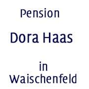 Logo Pension Dora Haas