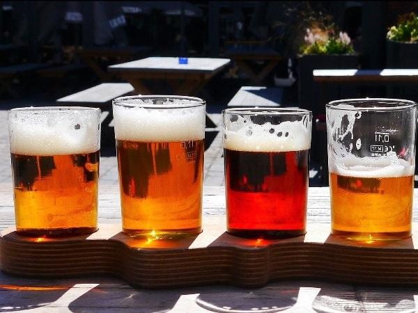 Ab 5 Übernachtungen, 1 x 6er Biertragerl mit regionalen Biersorten