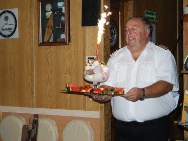Feiern an Bord - Saale Kabinenschifffahrt
