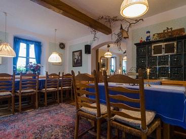 Aufenthaltsraum im Gästehaus des Hotels Krone in Gößweinstein
