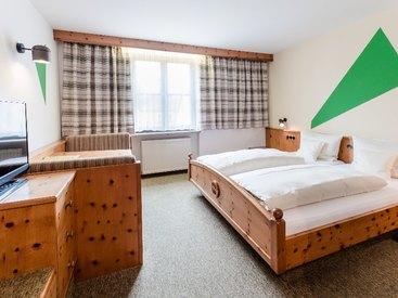 Ihre geräumiges Schlafzimmer im Hotel zu Post