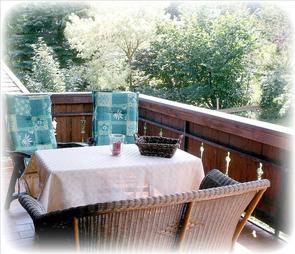 Balkon Fewo.1