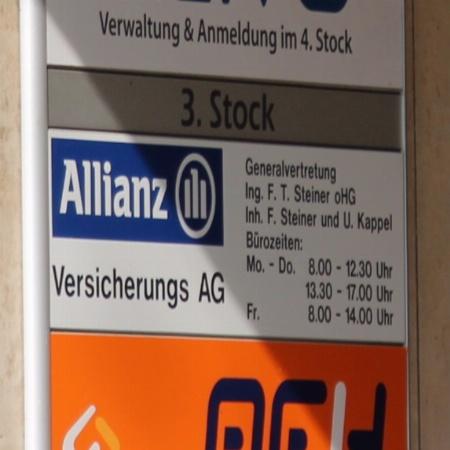 Allianz Generalvertretung Steiner und Kappel