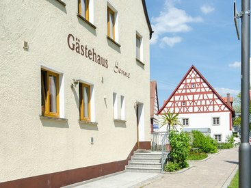 Gästehaus des Gasthaus Sonne