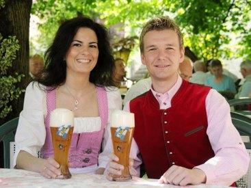 Unser Biergarten ist ein Traum...