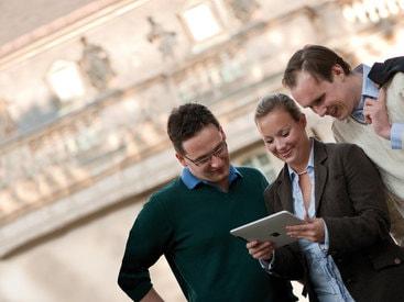 Wir beziehen Sie als unser Kunden in die Entwicklung mit ein.