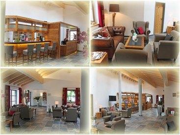 Neue Rezeption, Hotelbar und Lounge