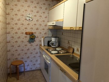 Ferienwohnung Häfner in Bischofsgrün im Fichtelgebirge - Küche