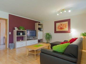 Ferienwohnung Weiß Wohnzimmer