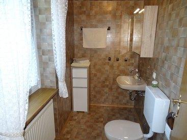 Bad Steben Ferienwohnung - Zur Hügelwiese, Dusche/WC