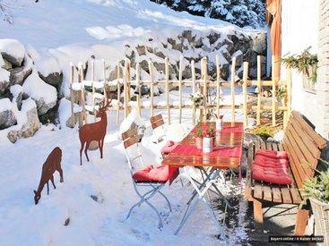 Die Wintersonne geniessen