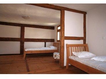 Schlafzimmer in der Schlötzmühle