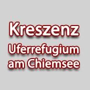 Logo KRESZENZ Uferrefugium am Chiemsee