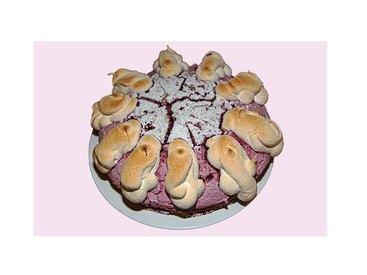 Johannisbeerbaiserkuchen
