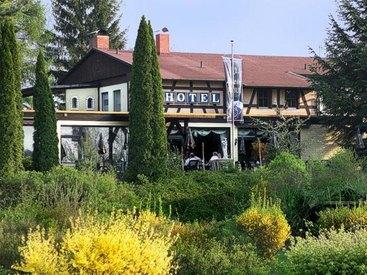 Außenansicht Hotel Bettina in Hollfeld in der Fränkischen Schweiz.