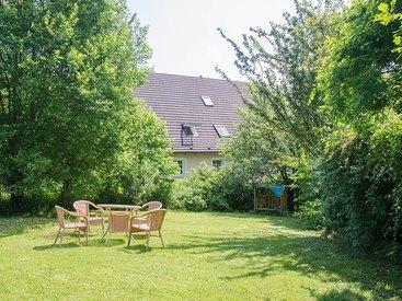 Der Garten der Ferienwohnungen