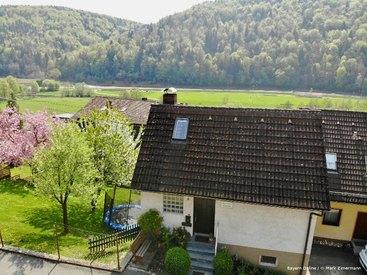 Ihre wunderschöne Ferienwohnung in Muggendorf von oben