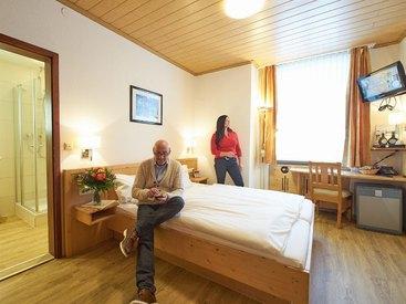 Doppelzimmer Standard im  Hotel Goldner Stern in Muggendorf in der Fränkischen Schweiz