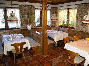 Gasthof Hochries in Frasdorf - Frühstücksraum