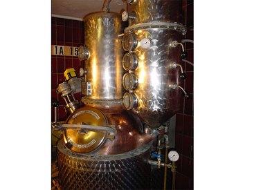 Kupferkessel für Destillate