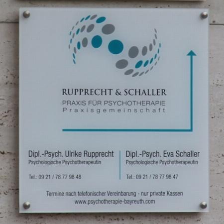 Praxis für Psychotherapie Rupprecht & Schaller