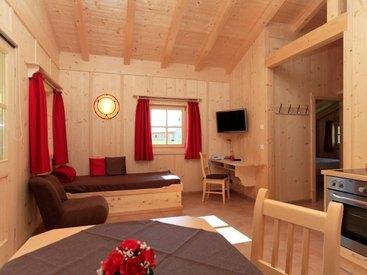 Chalet - Wohnraum mit Küche