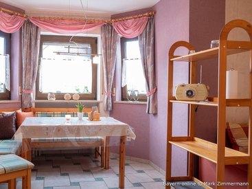Die helle Küche in Ihrer schönen Ferienwohnung in Waischenfeld