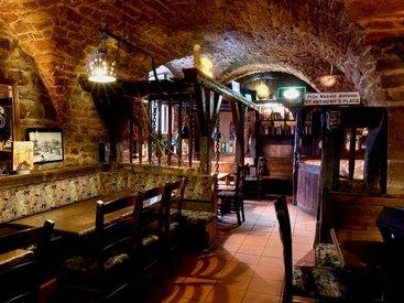 Der Eingangsbereich in unserem gemütlichen Irish Pub