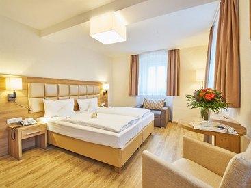 DZ Superior Hotel Goldner Stern in Muggendorf in der Fränkischen Schweiz