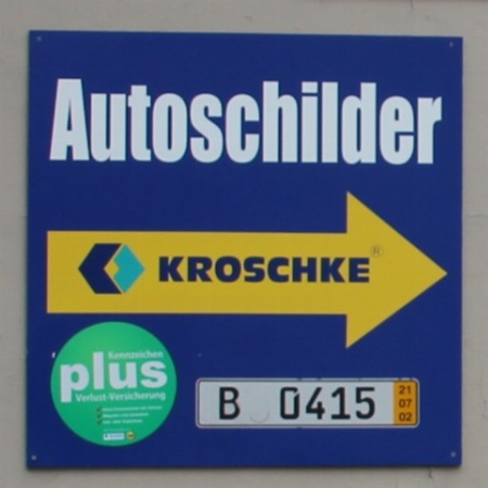 Autoschilder Christoph Kroschke Service Point