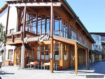 Restaurant-Cafe Grundbachstuben im Fiskina
