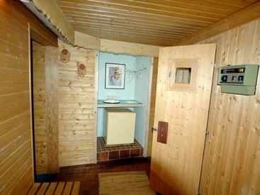 Sogar mit eigener Sauna