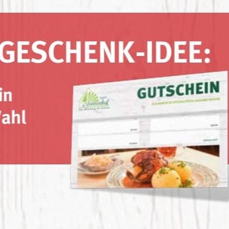 Unser Gutschein: Die perfekte Geschenk Idee für jeden Anlass!