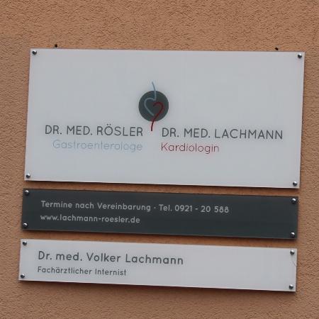 Internistische Gemeinschaftspraxis Rösler und Lachmann