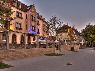 Hotel Restaurant Walfisch in Würzburg Ansicht