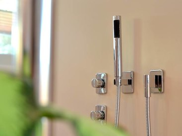Hochwertige Armaturen für die Dusche
