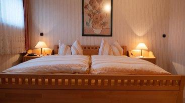 Schlafzimmer Ferienwohnung Leonhardt