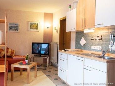 Ihre geräumige Wohnküche in Ihrer Ferienwohnung in Waischenfeld