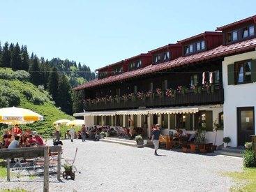 Berggasthof Falkenhütte Oberstaufen - wunderschön gelegen und immer einen Besuch wert!