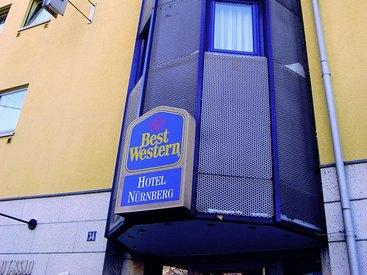 Außenansicht des Best Western Hotel Nürnberg am Hauptbahnhof