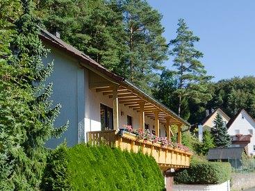 Hausansicht Fewo Am Bärenstein in Gößweinstein