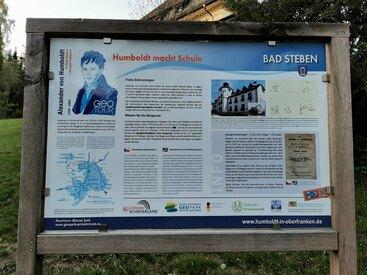 Bad Steben Ferienwohnung Heger Alexander von Humboldt